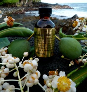 Tamanu Oil (Hawaiian: Kamani Oil)